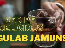 Recipe  Delicious Gulab Jamuns