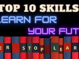 TOP 10 SKILLS TO LEARN FOR YOUR FUTURE